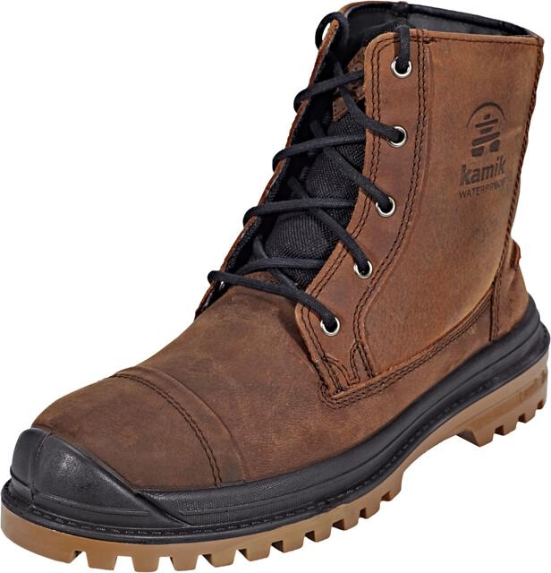 Kamik Griffon Winter Shoes Men cognac